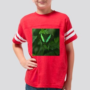FP Green Butterfly Youth Football Shirt