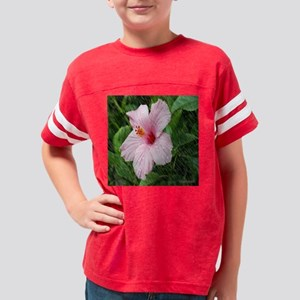 FP Hibiscus in Rain Youth Football Shirt