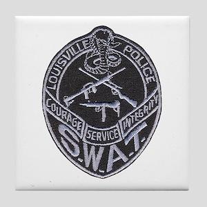 Louisville SWAT Tile Coaster
