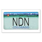 Colorado NDN Rectangle Sticker