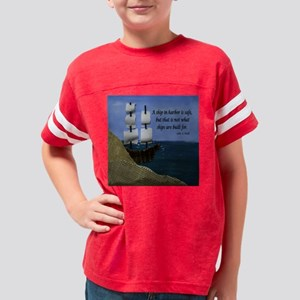 What Ships are Made For Youth Football Shirt