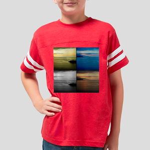 Quadriptych seascape Youth Football Shirt