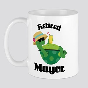 Retired Mayor Gift Mug