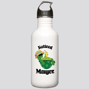Retired Mayor Gift Stainless Water Bottle 1.0L