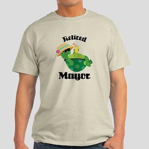 Retired Mayor Gift Light T-Shirt