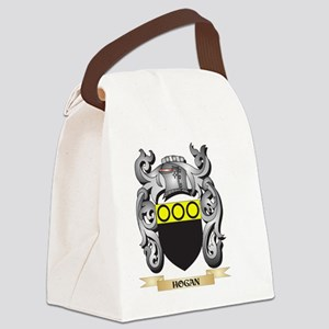 Hogan Coat of Arms - Family Crest Canvas Lunch Bag