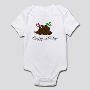 Crappy Holidays Holly Infant Bodysuit