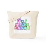 Bright Colors History Teacher Tote Bag