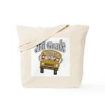 School Bus 3rd Grade Tote Bag