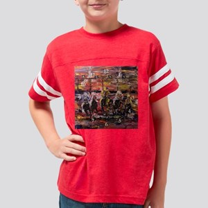 And Theyre Off Modern Wall Cl Youth Football Shirt