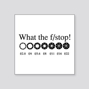 What the f/stop? Sticker
