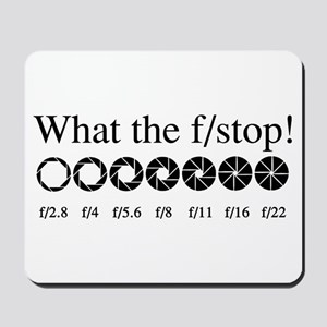 What the f/stop? Mousepad