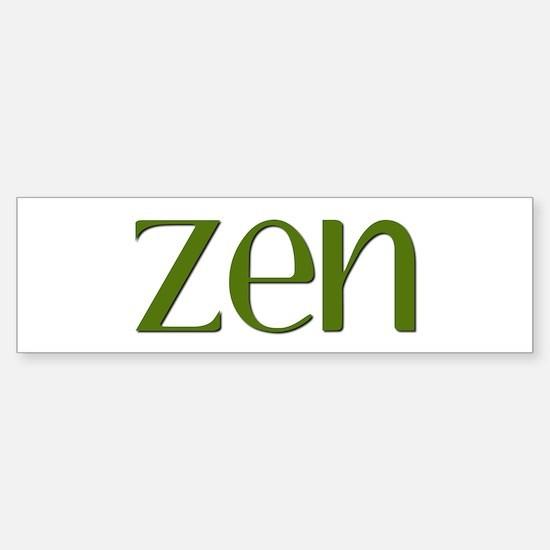 Zen Sticker (Bumper)