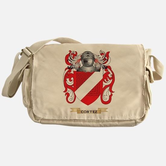 Cortez Coat of Arms Messenger Bag