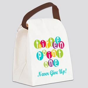 Twenty Six Point Two Canvas Lunch Bag