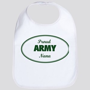 Proud Army Nana Bib