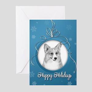 Elegant Corgi Holiday Cards (Pk of 20)
