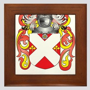 Cory Coat of Arms Framed Tile
