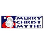 Merry Christ Myth! Bumper Sticker