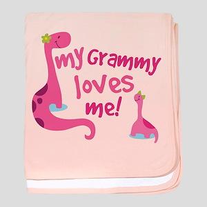 My Grammy Loves Me baby blanket