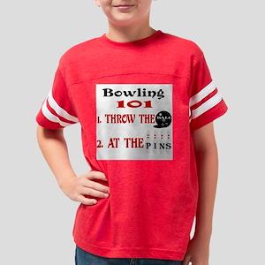 Bowling 101 Youth Football Shirt
