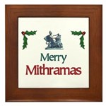 Merry Mithramas - Framed Tile