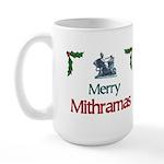 Merry Mithramas - Large Mug