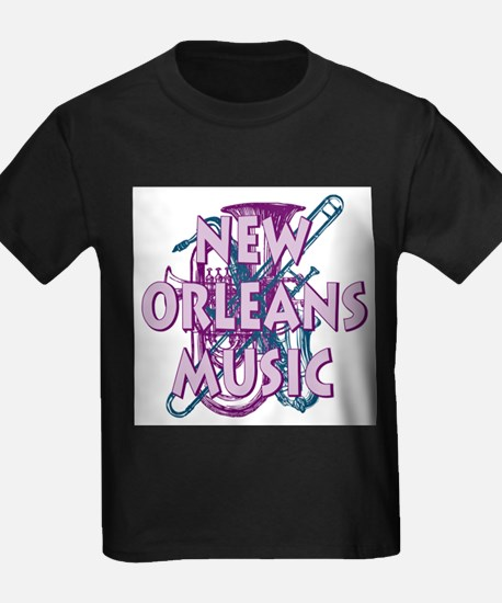 Purple New Orleans Music T-Shirt