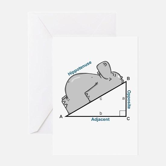 Hippotenuse Greeting Card