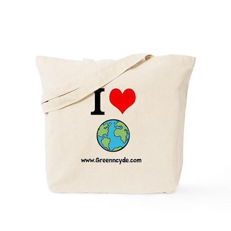 I love earth event Tote Bag