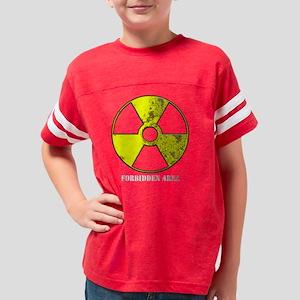 rad_warn_rusty_forb_area Youth Football Shirt