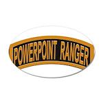 Powerpoint Ranger logo Wall Decal