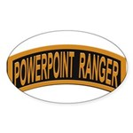 Powerpoint Ranger logo Sticker