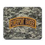 Powerpoint Ranger logo Mousepad