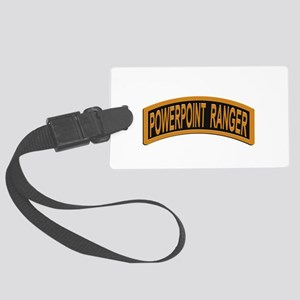 Powerpoint Ranger logo Luggage Tag