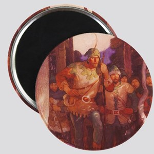 Robin Hood by NC Wyeth Magnet