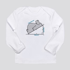 Hippotenuse Long Sleeve Infant T-Shirt