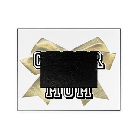 Gold Cheer Mom Picture Frame