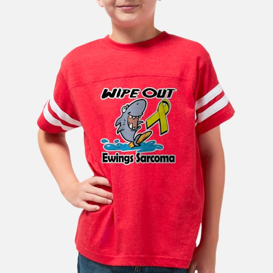 Wipe Out Ewings Sarcoma Youth Football Shirt