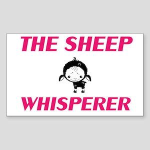 The Sheep Whisperer Sticker