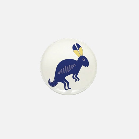 Rabbit Mini Button
