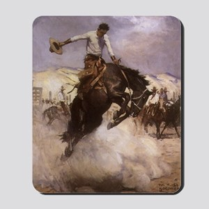 Breezy Riding by Koerner Mousepad