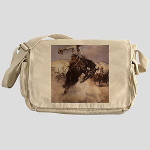 Breezy Riding by Koerner Messenger Bag