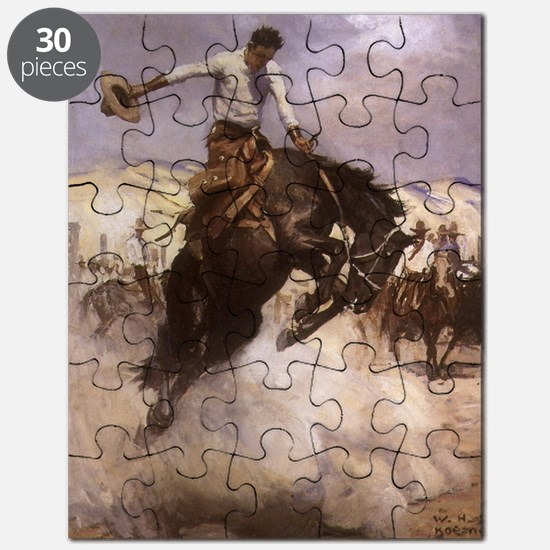 Breezy Riding by Koerner Puzzle