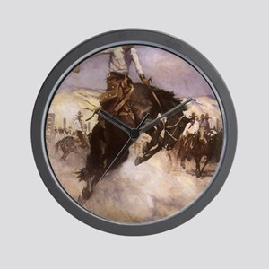 Breezy Riding by Koerner Wall Clock