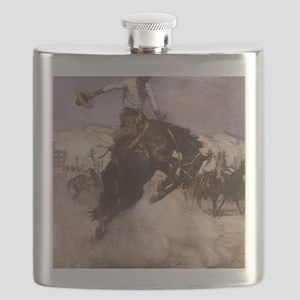 Breezy Riding by Koerner Flask