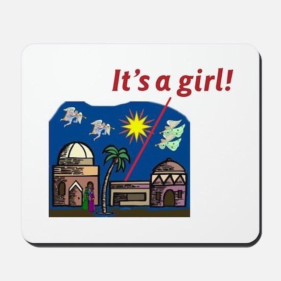 It's a Girl! -  Mousepad