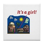 It's a Girl! -  Tile Coaster