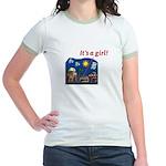 It's a Girl! -  Jr. Ringer T-Shirt