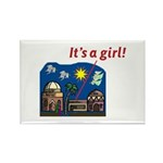 It's a Girl! - Rectangle Magnet (10 pack)